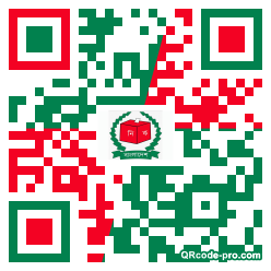 QR code with logo 1PKw0