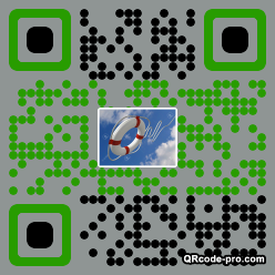 QR code with logo 1PLD0