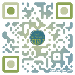 QR code with logo 1PM10