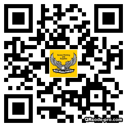 QR code with logo 1PSA0