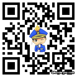 QR code with logo 1PST0