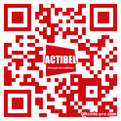 QR code with logo 1PVt0