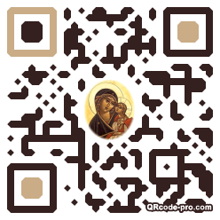 QR code with logo 1PW20