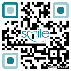 QR code with logo 1PW60