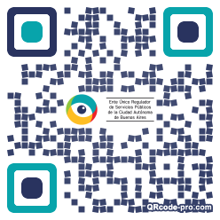 QR code with logo 1PWE0