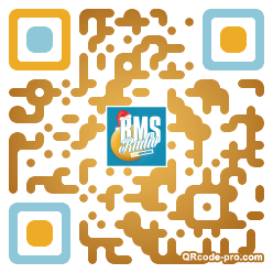 QR code with logo 1PX20