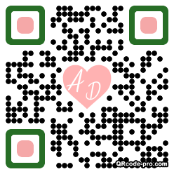 QR code with logo 1PXe0