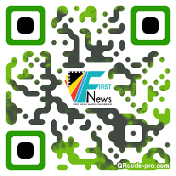 QR code with logo 1PXv0