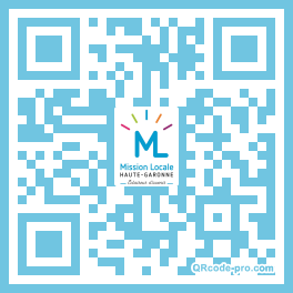 QR code with logo 1PcL0