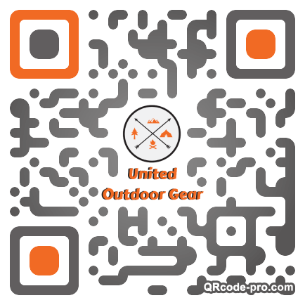 QR code with logo 1Pft0
