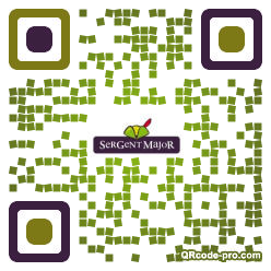 QR code with logo 1Pg40