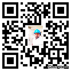 QR code with logo 1PgQ0