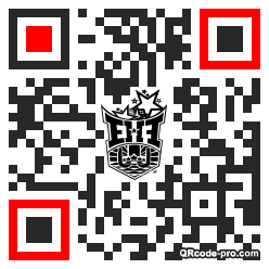 QR code with logo 1PlS0