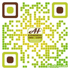 QR code with logo 1Pnu0