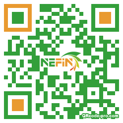 QR code with logo 1Ppm0