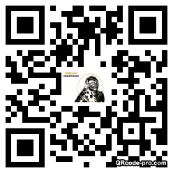 QR code with logo 1Ps90