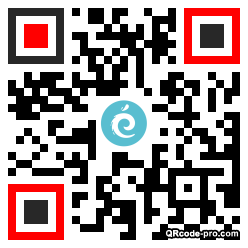 QR code with logo 1PtG0