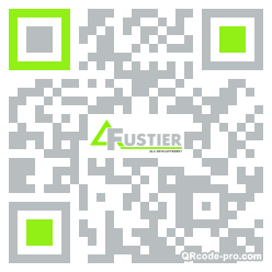 QR code with logo 1Px00