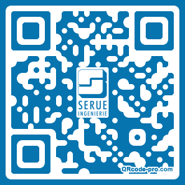 QR code with logo 1PxF0