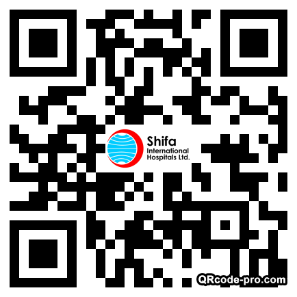 QR code with logo 1QFs0