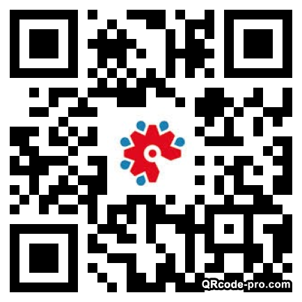 QR code with logo 1QNY0