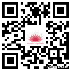 QR code with logo 1QRx0