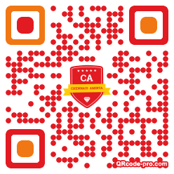 QR code with logo 1Qcj0