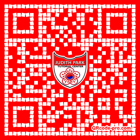 QR code with logo 1Ql30