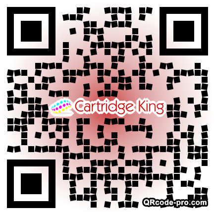 QR code with logo 1R130