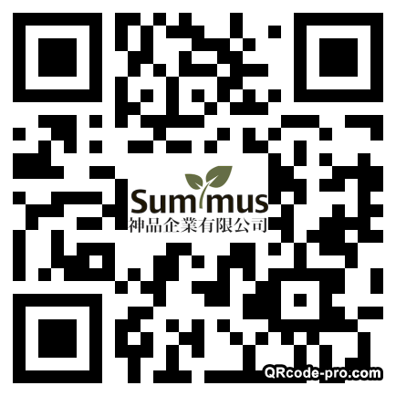 QR code with logo 1R330
