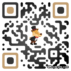 QR code with logo 1R390