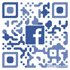 QR code with logo 1R4G0