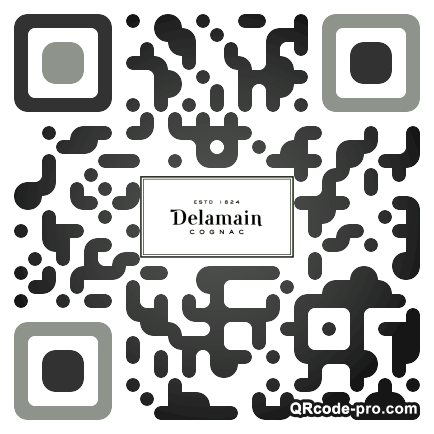 QR code with logo 1R4P0