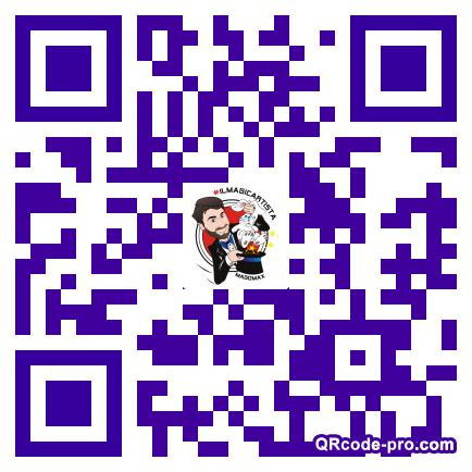 QR code with logo 1R5F0