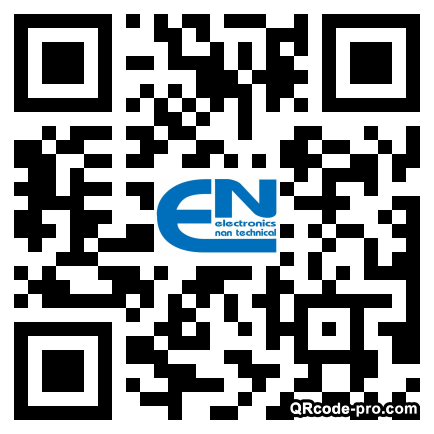 QR code with logo 1R7h0