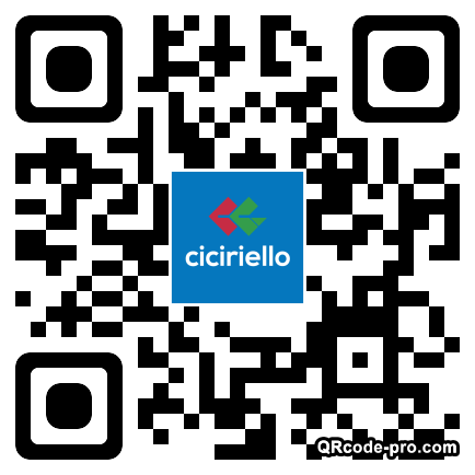QR code with logo 1R8X0