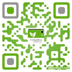 QR code with logo 1R9X0