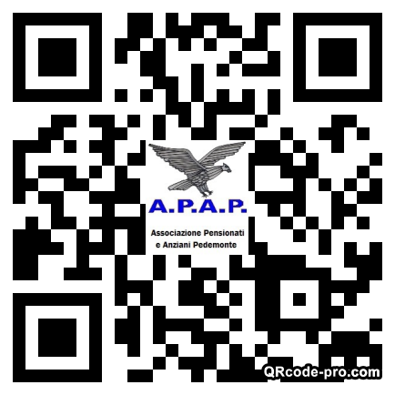 QR code with logo 1R9k0