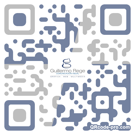 QR code with logo 1RBd0