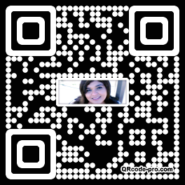 QR code with logo 1RBe0
