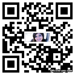 QR code with logo 1RBf0