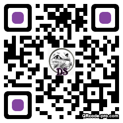 QR code with logo 1RBo0