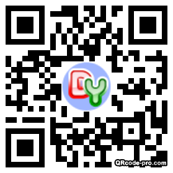 QR code with logo 1RDE0