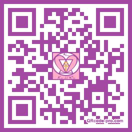 QR code with logo 1REX0