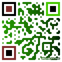 QR code with logo 1REh0