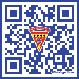 QR code with logo 1RG10