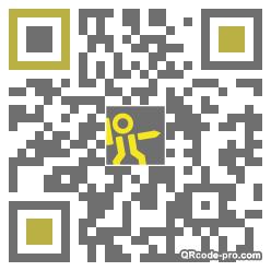 QR code with logo 1RHK0