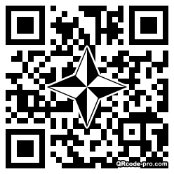 QR code with logo 1RIS0