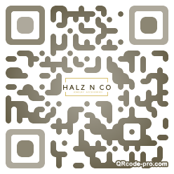 QR code with logo 1RKN0