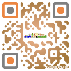 QR code with logo 1RKO0